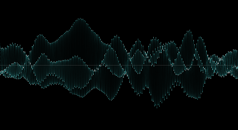 Voice oscillogram