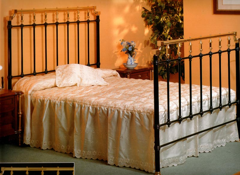 Muebles de forja camas forja l nea cl sica - Cabeceros de forja antiguos ...