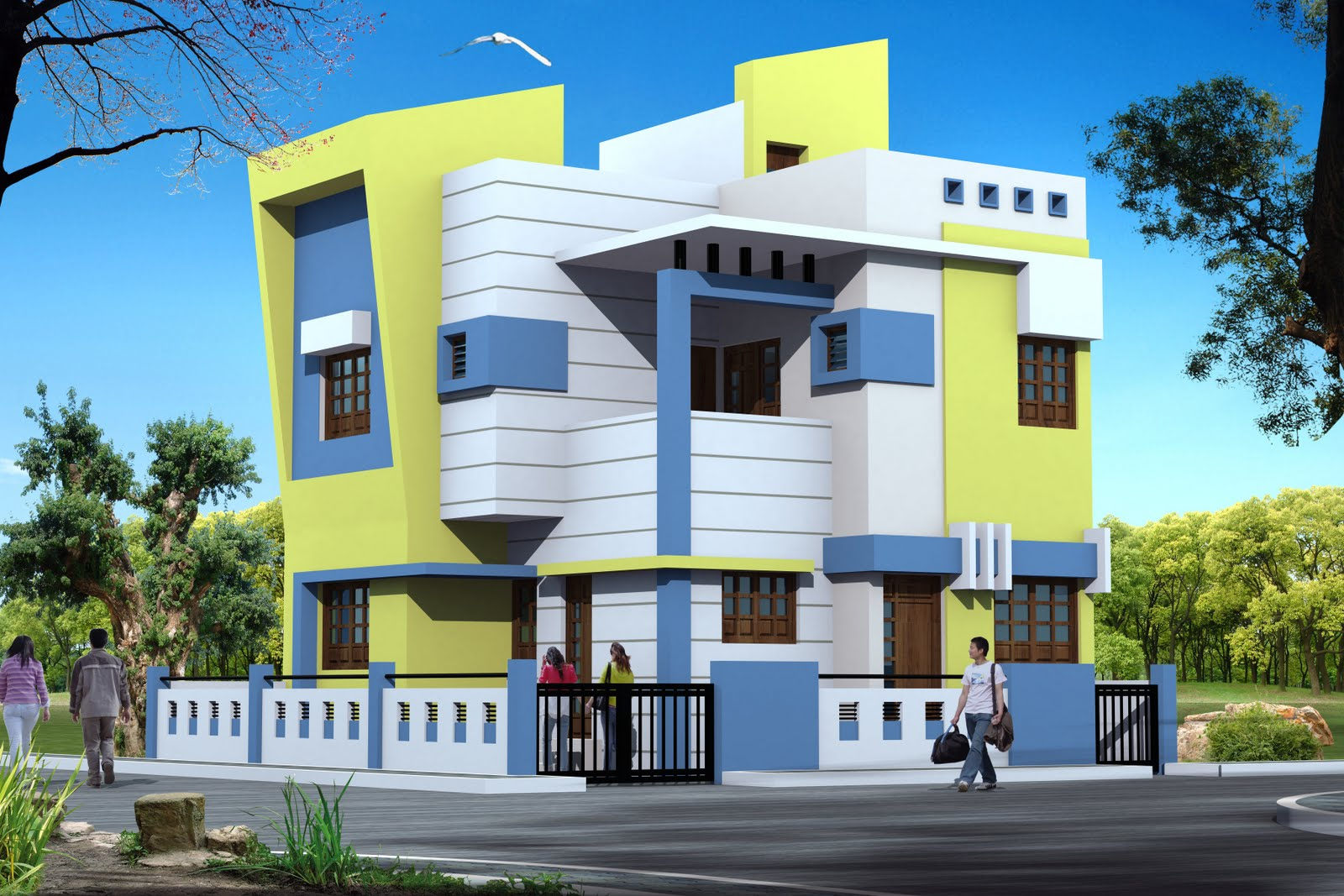 Modern Bungalows Exterior Designs Home Interior Dreams