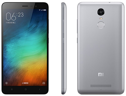 Tampilan sisi Xiaomi redmi Note 3 Pro terbaru