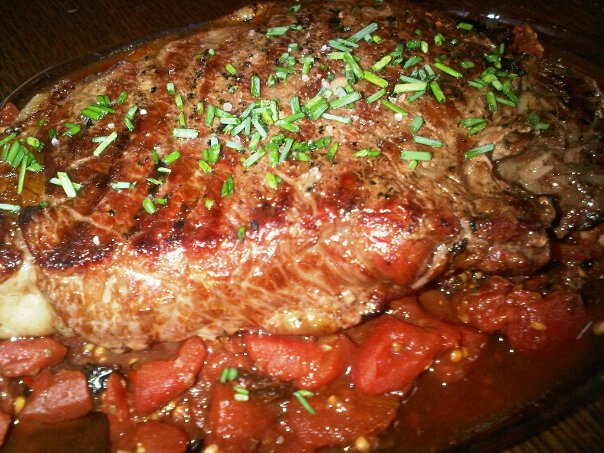 Video! absolutely Baked ny strip steak recipe