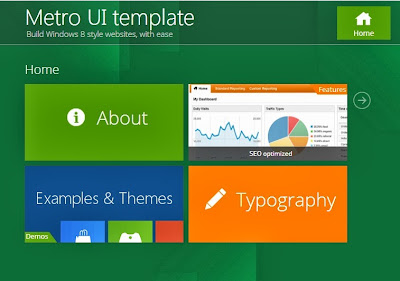 Top Metro UI Windows 8 Style Blogger Templates free