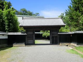 江川邸表門