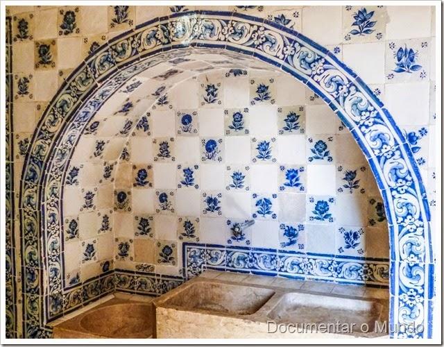 Cozinha; Palácio dos Marqueses de Minas; Azulejos Portugueses