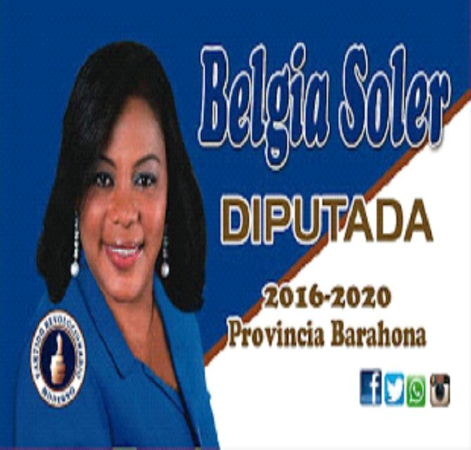 BELGIA SOLER, DIPUTADA PRM-PRSC 2016-2020