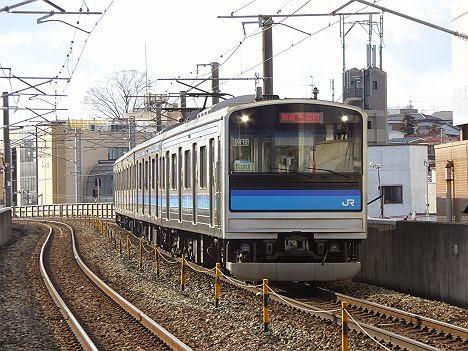 仙石線 快速 高城町行き 205系3100番台
