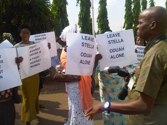 Some Women are Still  in Support of Stella Oduah.
