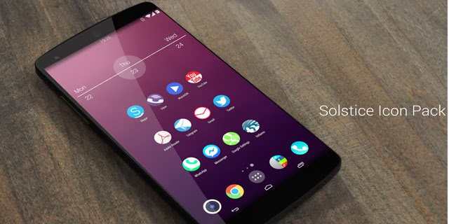Solstice HD Theme Icon Pack 1.5 Free Download APK