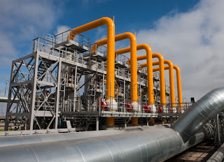 pipeline of plant