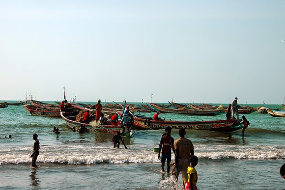 gambia fishing boats