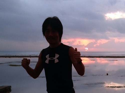 Pantai Sanur ・ jog in the morning