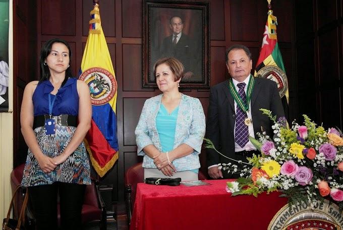 Jaime García, matemático malagueño, recibió la máxima condecoración de Santander
