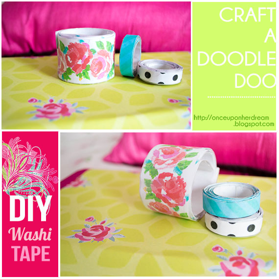 craft a doodle doo inspiration nation diy washi tape. Black Bedroom Furniture Sets. Home Design Ideas