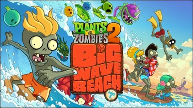 Plants vs Zombies 2 : Big Wave Beach Part 2
