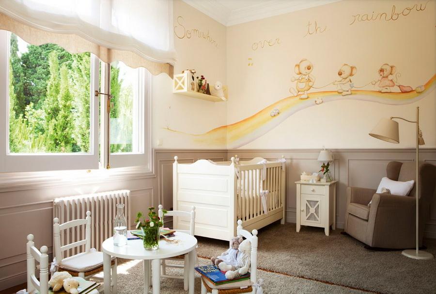estilo rustico habitaciones infantiles rusticas