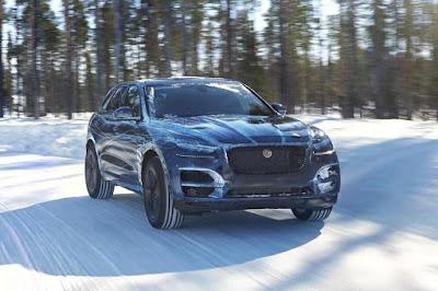 Jaguar F-Pace Prototype (2016) Front Side