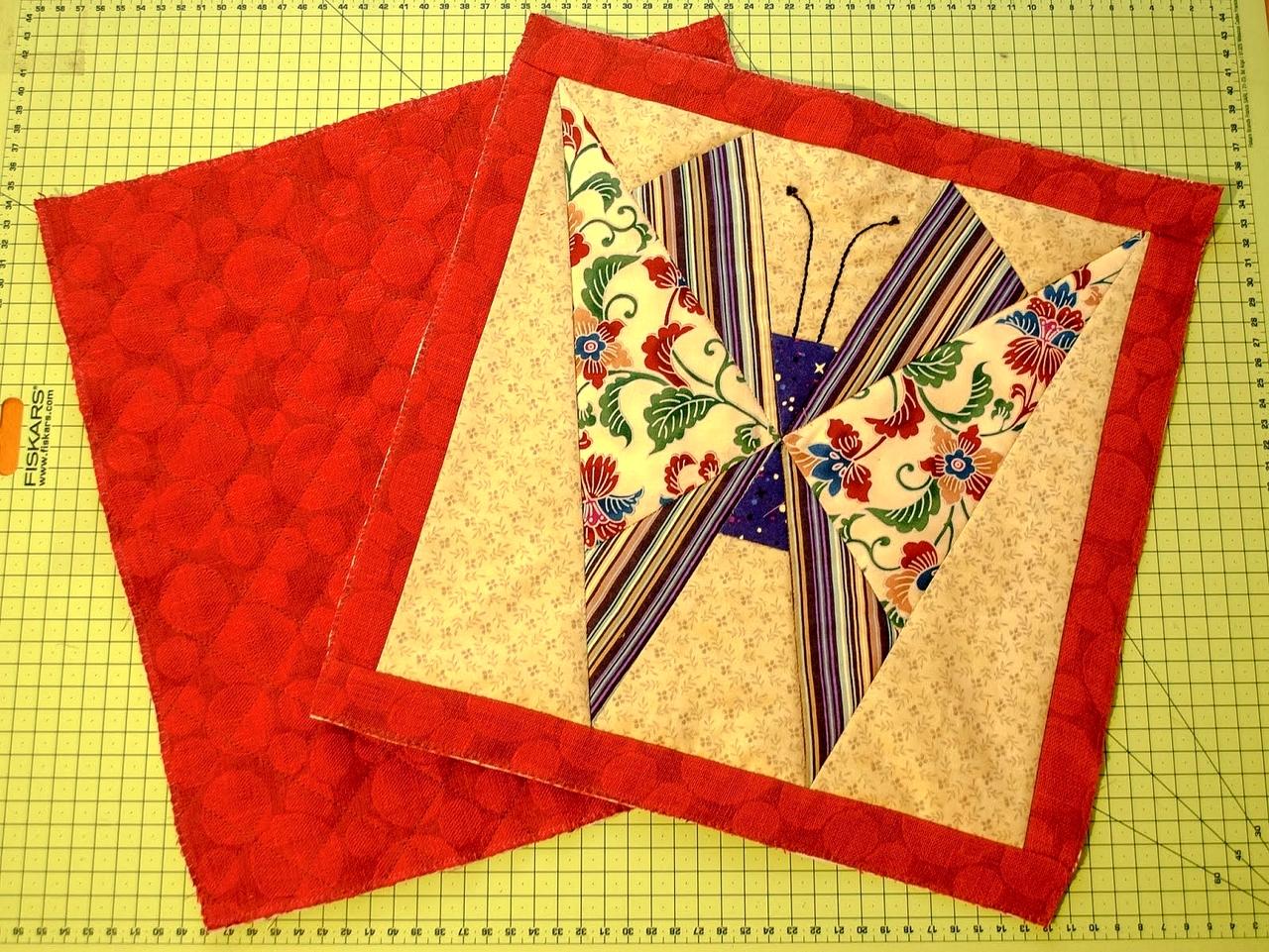 "Patchwork Bag ""Butterfly"" ~ DIY Tutorial Ideas!"