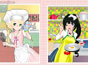 cocineras anime