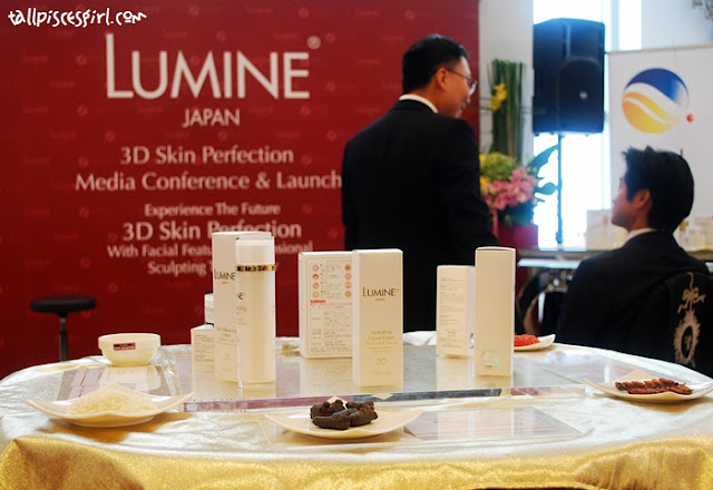 Full range of LUMINE products