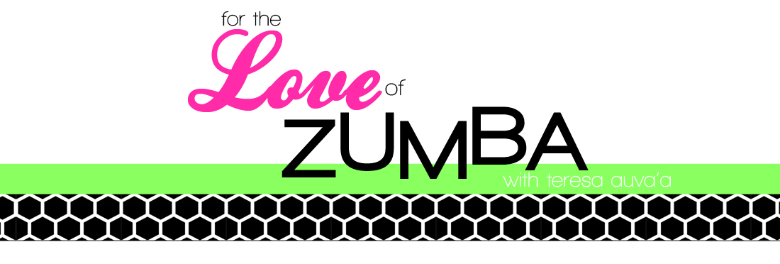 for the love of zumba