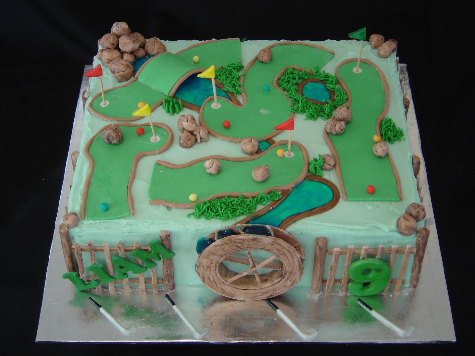Cake till u drop: Putt putt cake
