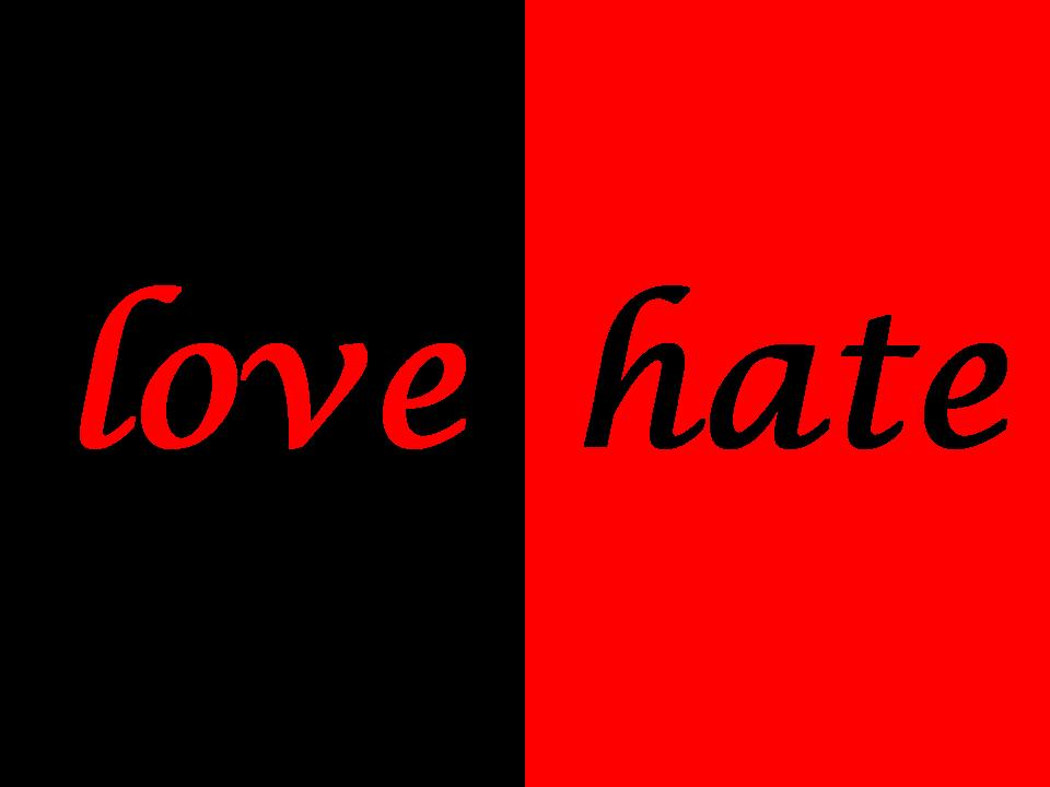 Love Hate Free Wallpapers