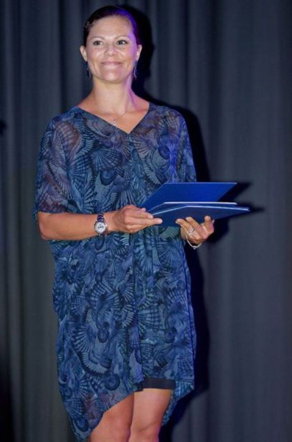 Crown Princess Victoria Attended The 2015 Stockholm Junior Water Prize