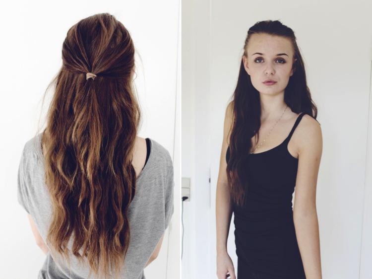 etager i håret