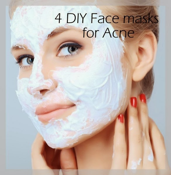 at home facial masks for acne