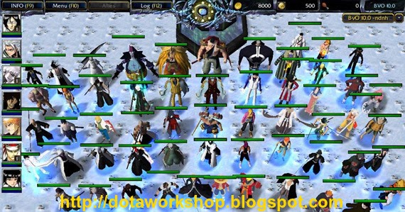 Dota Workshop Tools Bleach Vs One Piece 120 Free Map Download