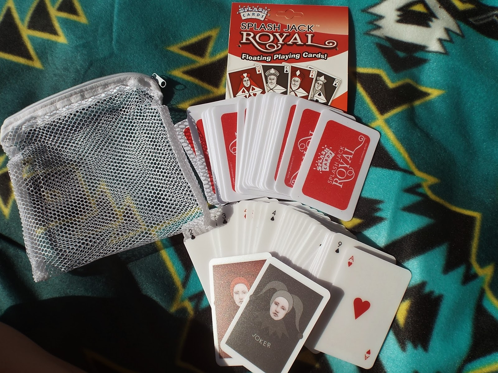 Winning Moves WaterProof Playing Cards Royal