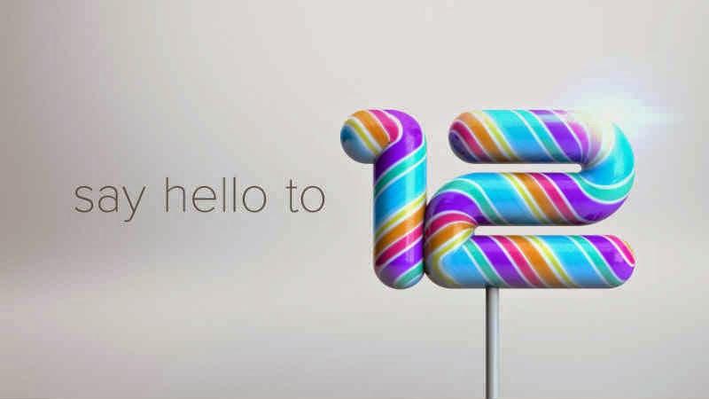 Android 5.0 Lollipop Based Cyanogen OS 12