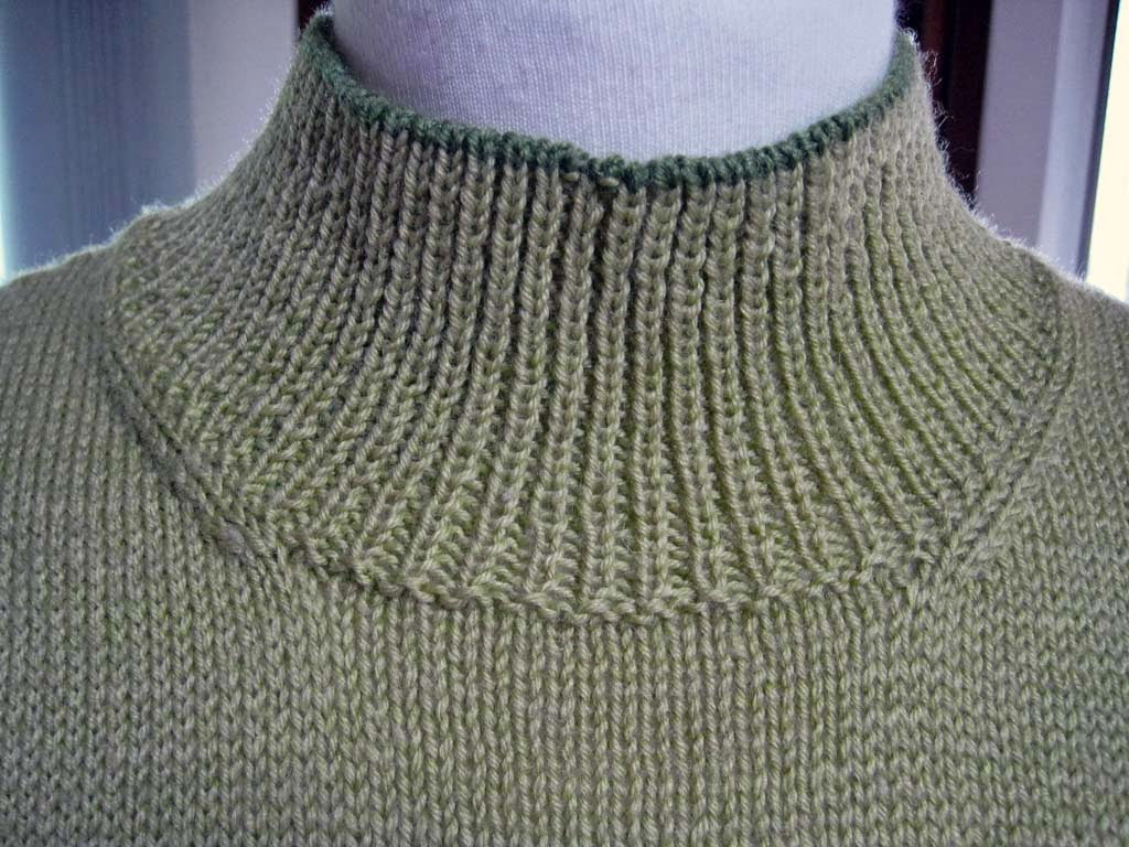 Knitting Pick Up Stitches V Neck : Knitting and More: Knitting a Round Neckline