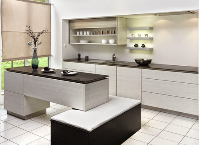 Simple Modern Efficient Kitchen Design