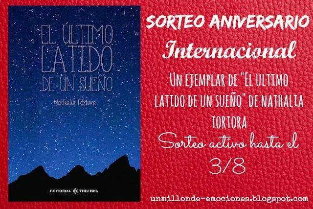 """Sorteo aniversario #1 """"El ultimo latido de un sueño"""""""