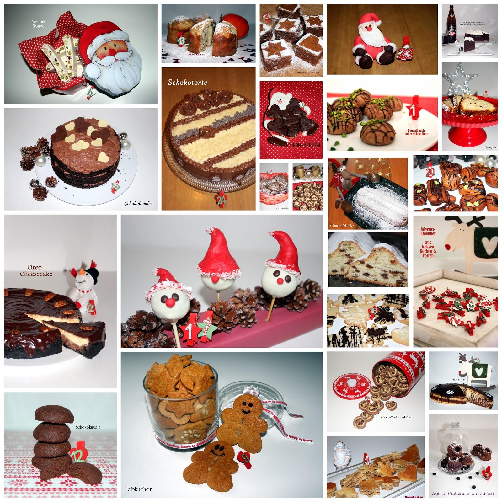 Rezept Kuchen Adventskalender In Einem Bild Das Susse Leben