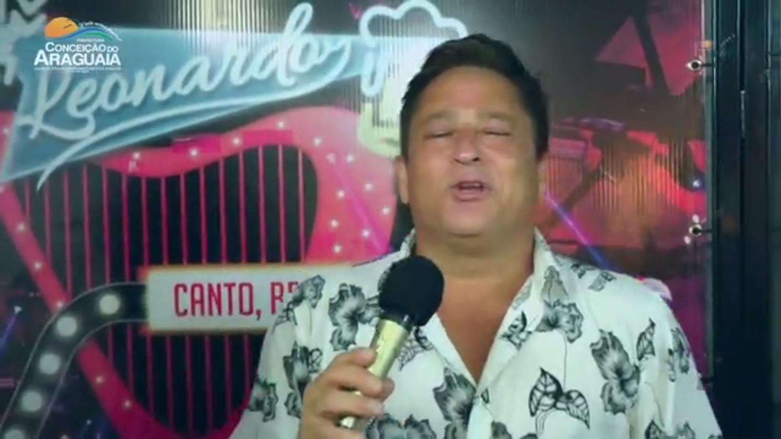 Turnê Canto Bebo E Choro🍷🍷 Leonardo em  CONCEIÇÃO DOARAGUAIA/PA31/12/18 Réveillon 01 1 19