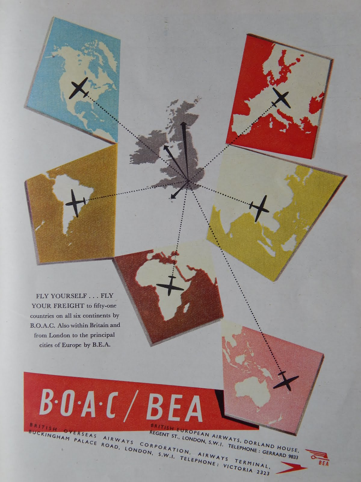 Remember BOAC and BEA?