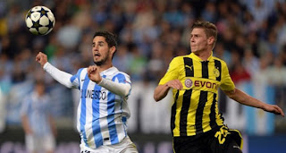 Video Gol Malaga vs Borussia Dortmund 4 April 2013