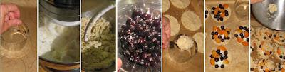 Zubereitung Jostabeeren-Aprikosen-Streuseltaler