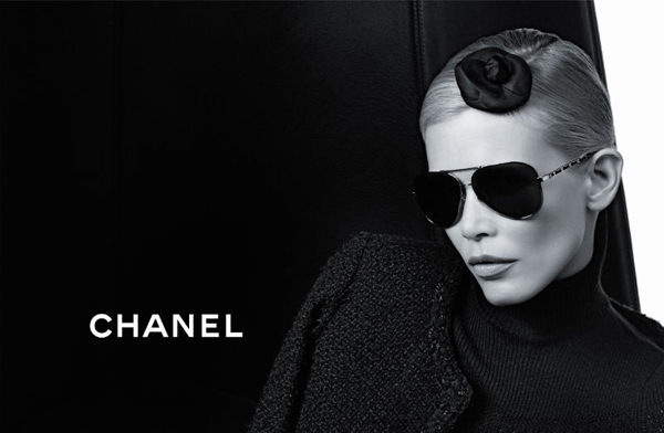 gafas de sol aviador Chanel