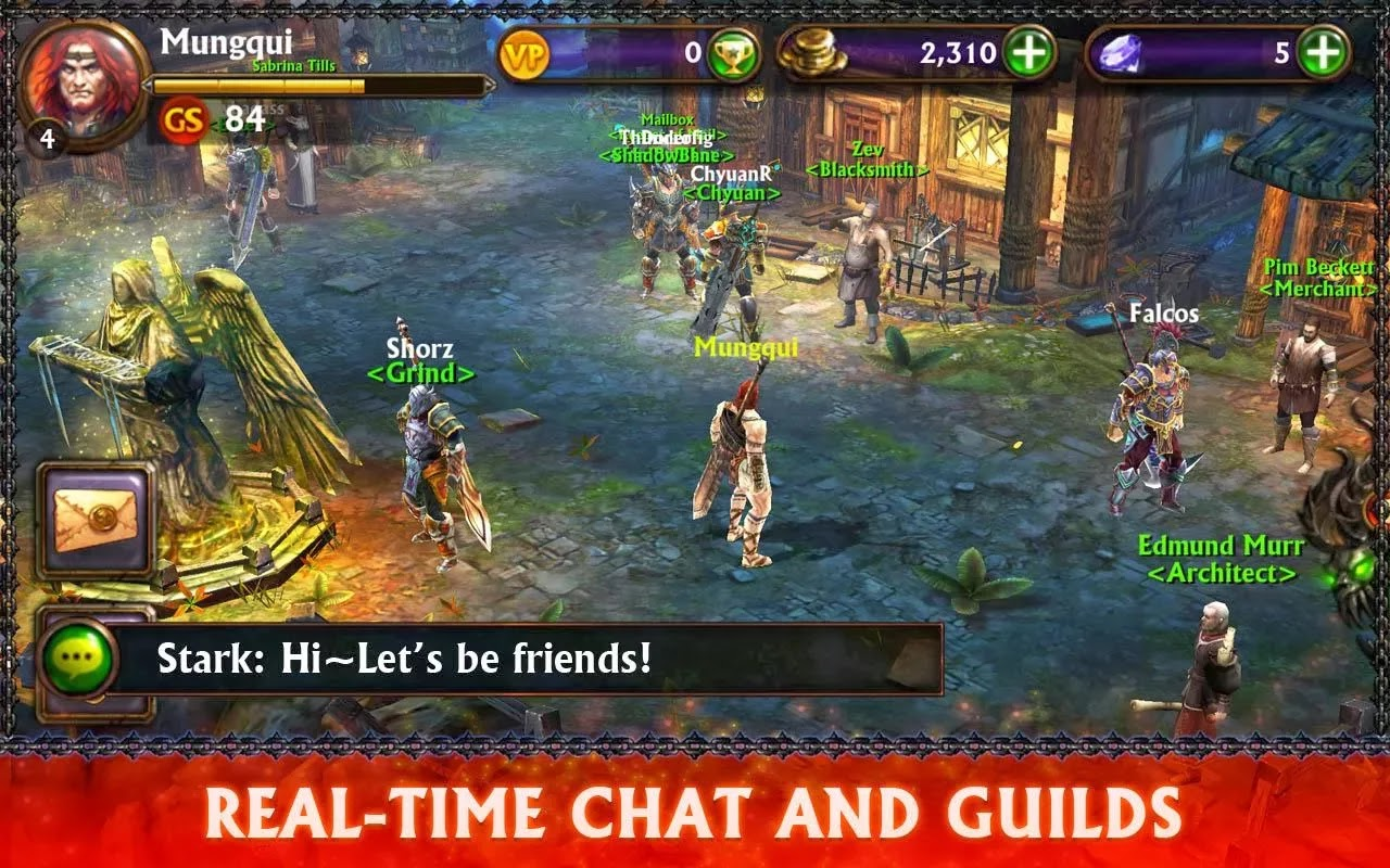 ETERNITY WARRIORS 3 v1.1.0 APK + DATA