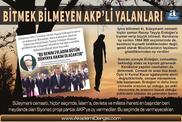 süleymanlılar, akp, akp'nin gerçek yüzü, akit gazetesi, Akit'in gerçek yüzü, Recep Tayyip Erdoğan, süleyman hilmi tunahan,