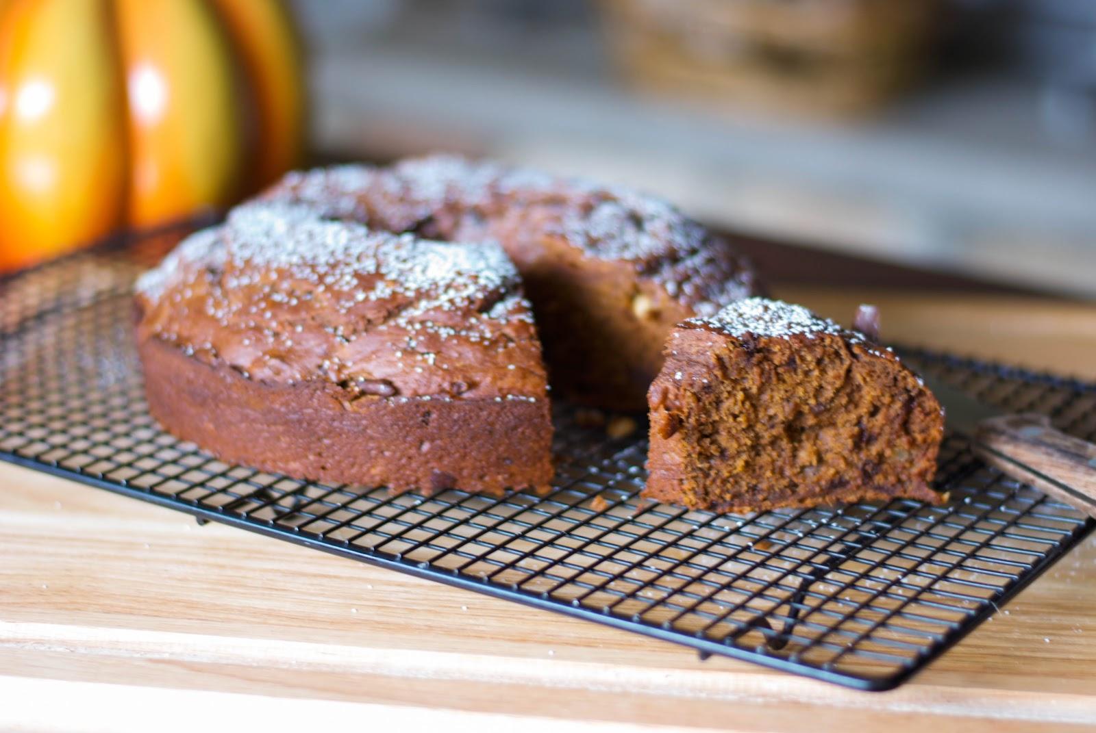 ... Experimental Kitchen: Chocolate Hazelnut Pumpkin Banana Bundt Cake