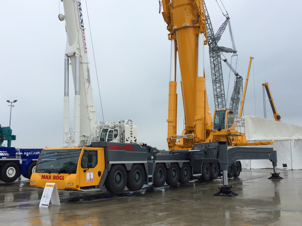 Mobile Crane Dubai : Visit to liebherr ehingen customer day mobile