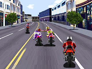 Road Rash Game ScreenShot