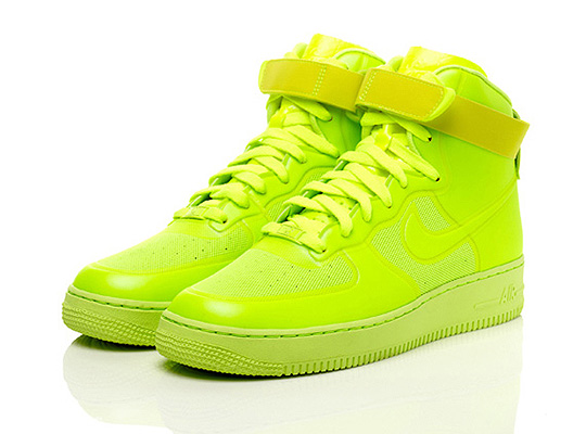 air force 1 gialle e viola
