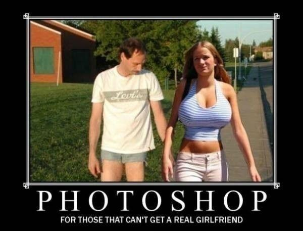 Photoshop Is For Forever Alone Guys