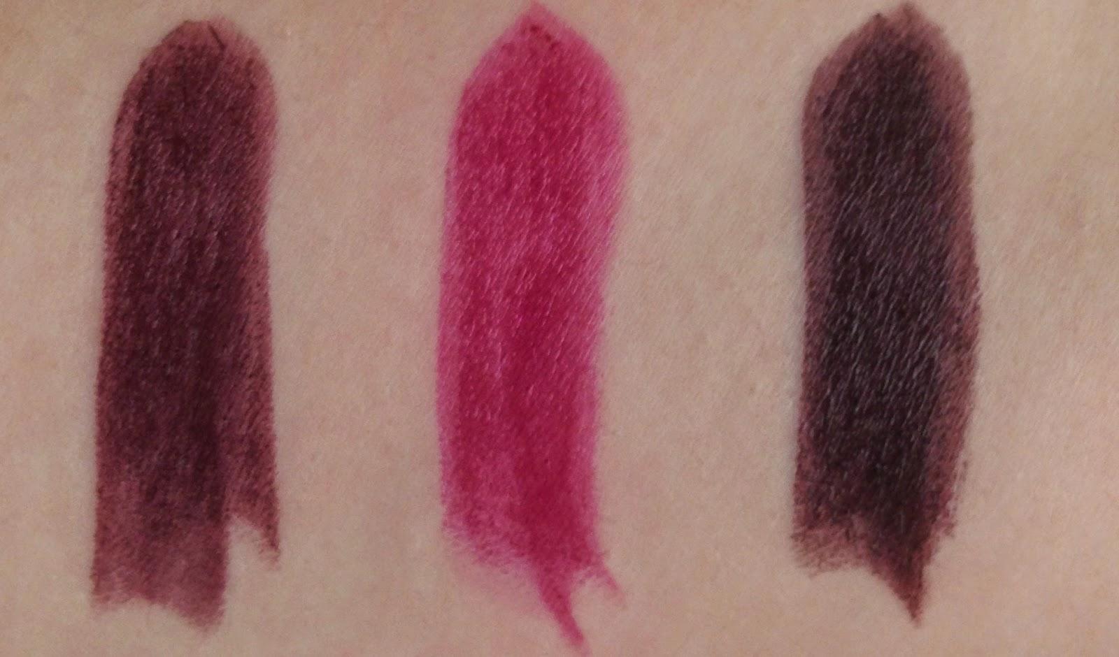 Makeup Revolution Full Vamp Lipstick Collection