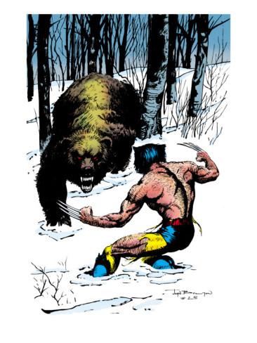The Dork Review Wolverine Vs Bears